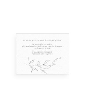 Fine Art - Lista Nozze