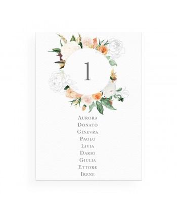 Fleurir - Tableau de mariage
