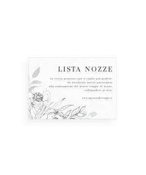 Darling Peony  - Lista Nozze